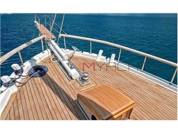 Turkish shipyard Wood motorsailer